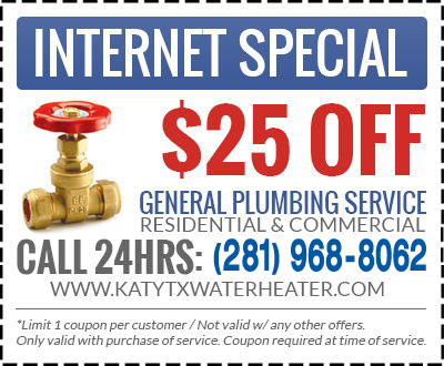katy plumbing coupon
